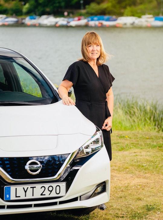 Alexandra Österplan från Nissan