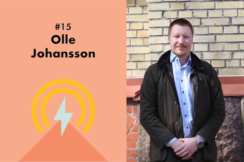 Bild på Olle Johansson från Power Circle