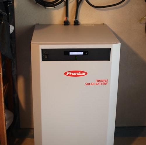 Batteri från tyska leverantören Fronius