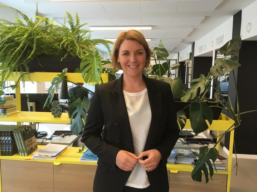 Christina Bu, ordförande i den norska elbilföreningen