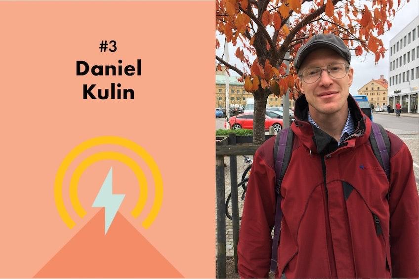 Daniel Kulin, handläggare på Energimyndigheten, och den tredje gästen i Solcellskollens podcast