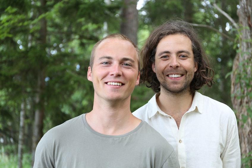 Solcellskollens grundare, Eric Ahlberg och Erik Wallnér