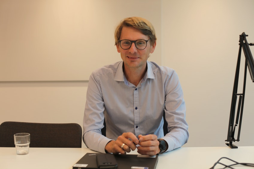 Fredrik Hannerz, chef för avdelningen för EU:s utsläppshandel på Naturvårdsverket.