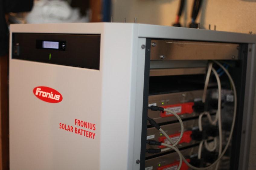 Ett hembatteri från växelriktarproducenten Fronius
