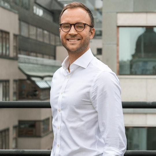 Carl-Emil Lindholm från infrastrukturfonden Infranode