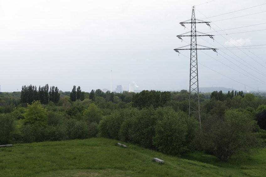Ett kolkraftverk i tyska Rühr-omårdet