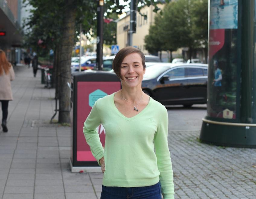 Maja Lundbäck, förändringsledare på Svenska kraftnät.
