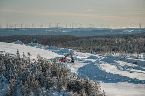 Markbygden där Europas största vindkraftpark håller på att byggas