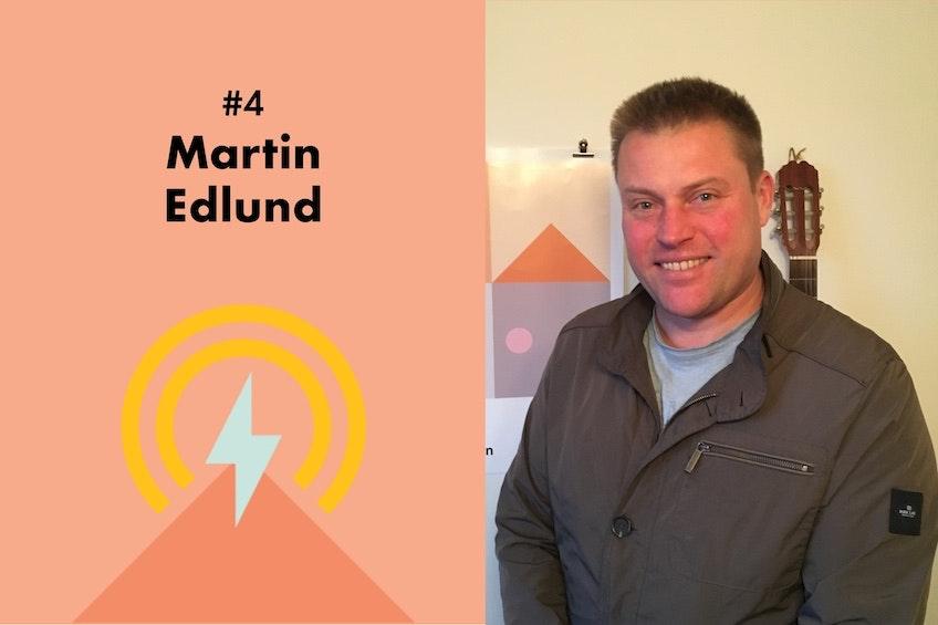 Martin Edlund, VD för havsenergiföretaget Minesto, och den fjärde gästen i Solcellskollens podcast