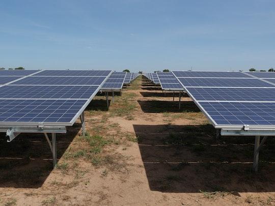Solcellspark i Uganda