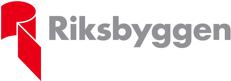 Riksbyggens logotyp som länkar till sida över stipendianter för riksbyggens stipendier för idéer om hållbara städer, däribland Solcellskollen