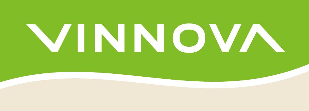 Vinnovas logotyp som länkar till Solcellskollens blogginlägg om att Solcellskollen har fått ett bidrag inom Vinnovas program innovativa startups