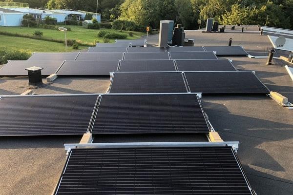 Bild på solceller i Alafors