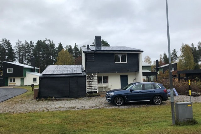 Bild på solceller i Jädraås