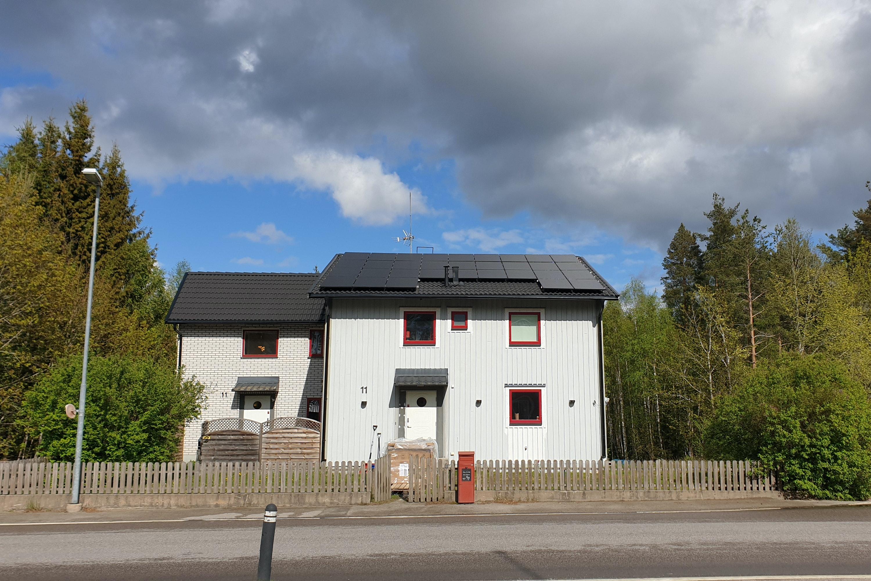 Bild på solceller i Lindås