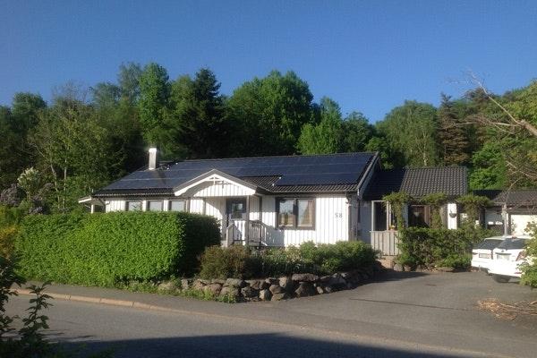 Bild på solceller i Olofstorp